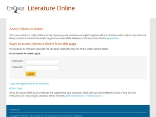 Dissertation Abstracts Online Proquest