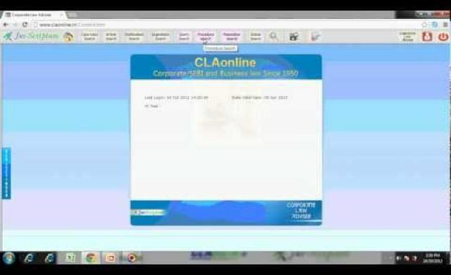 CLAonline demo